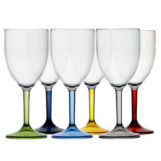 Marine Business Unbreakable Nautical Wine Glass - Party