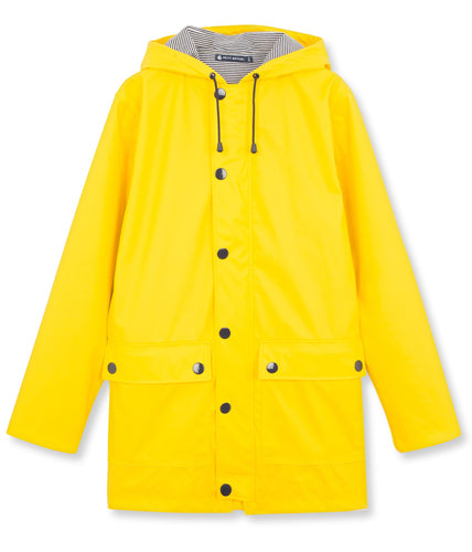 Petit Bateau Women's Raincoat - Yellow
