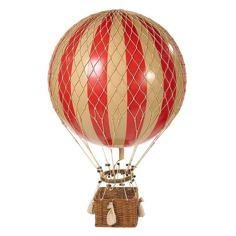 Hanging Hot Air Balloon - Red (large)