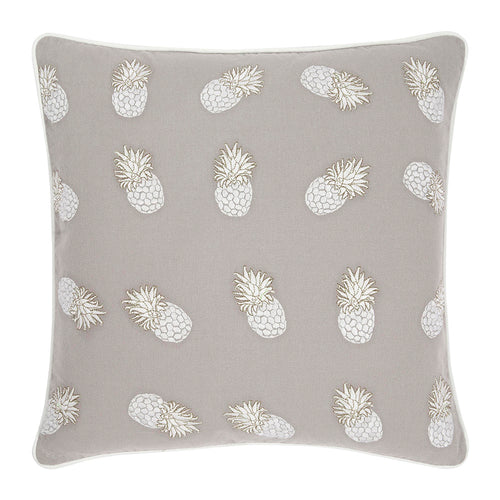 Elizabeth Scarlett Ananas Cushion - Cloud