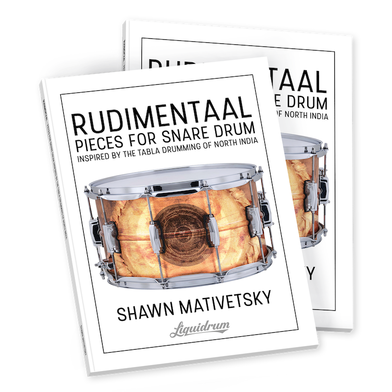 RUDIMENTAAL by Shawn Mativetsky