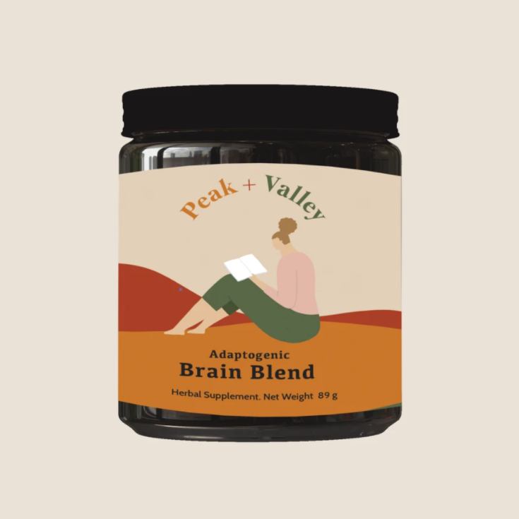 Peak and Valley Brain Blend