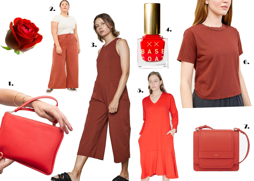 Sustainable Valentines Day Outfits Red