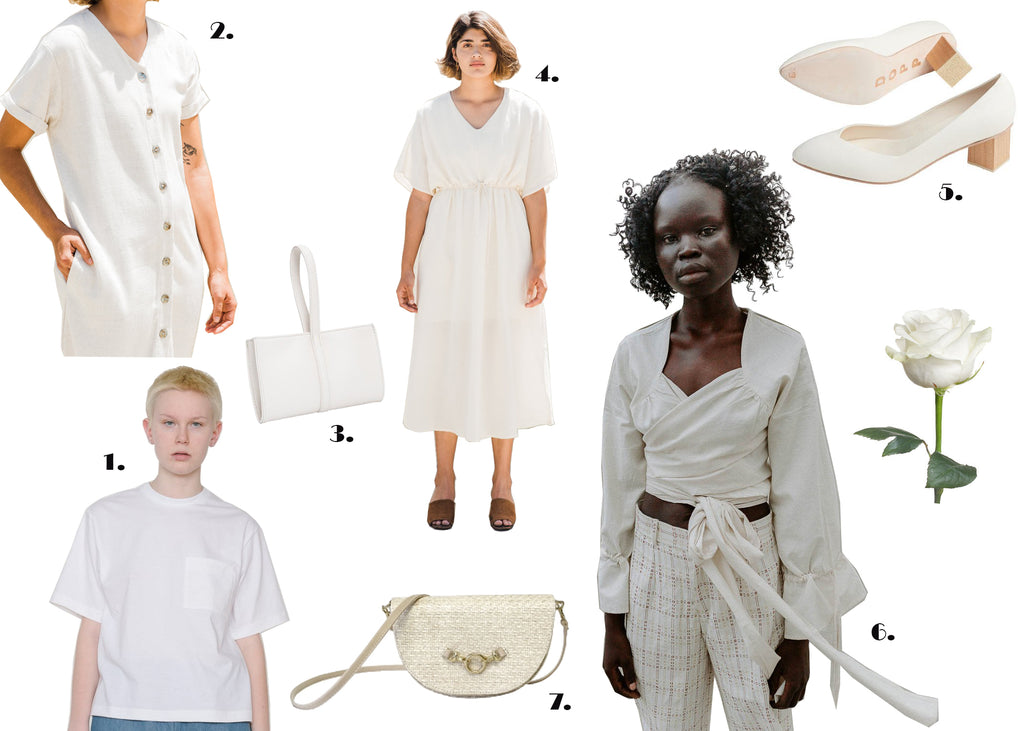 Sustainable Valentines Day Outfits White