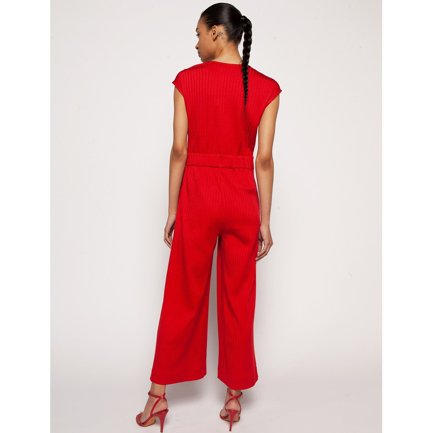 Emily Jumpsuit Red