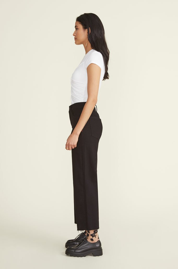 ICN Wide-leg Jean Black