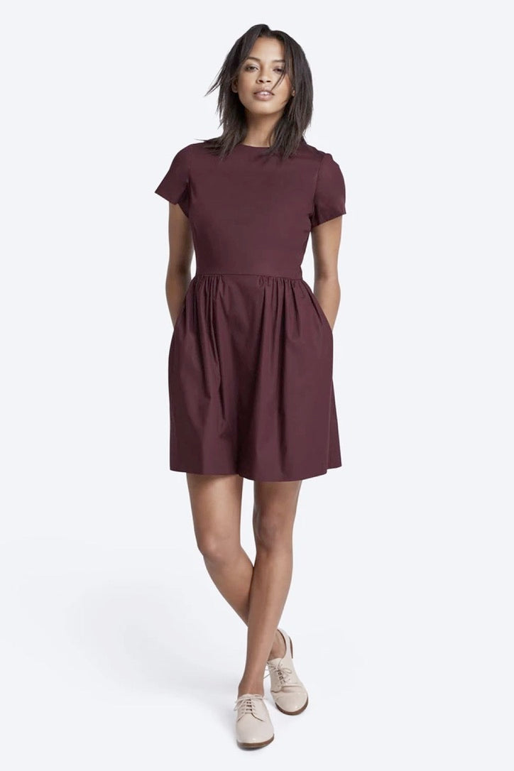 Patricia Dress Oxblood