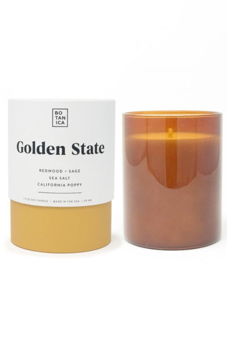 Botanica Candle Medium Golden State