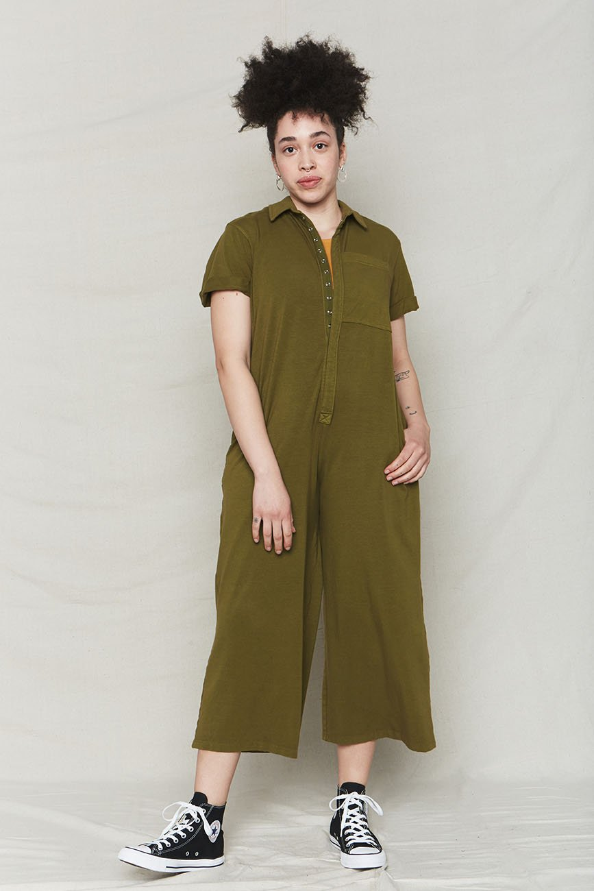 Avocado Organic Cotton Oversized Jumpsuit