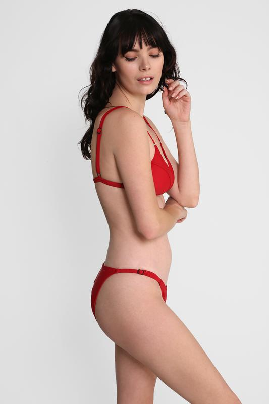 Ring Brief Red