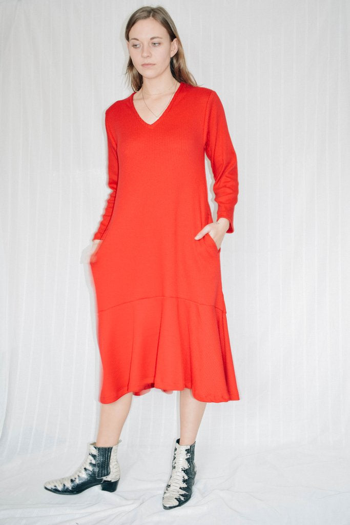 Stephanie Dress Red