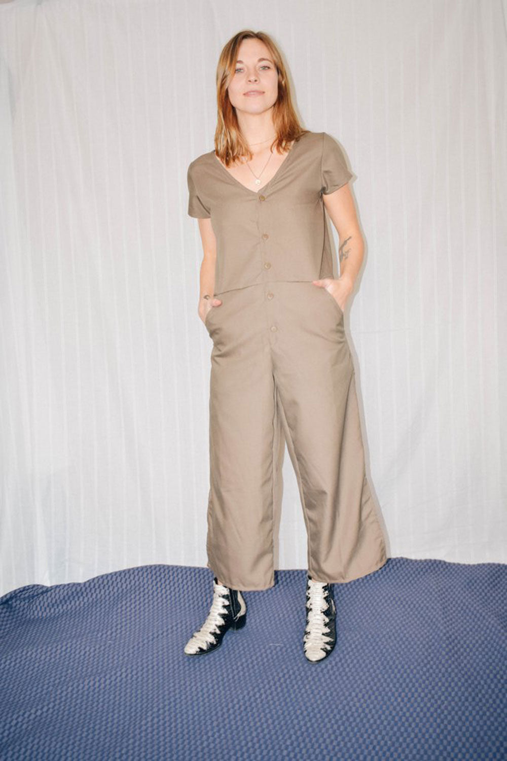 Kate Jumpsuit Olive