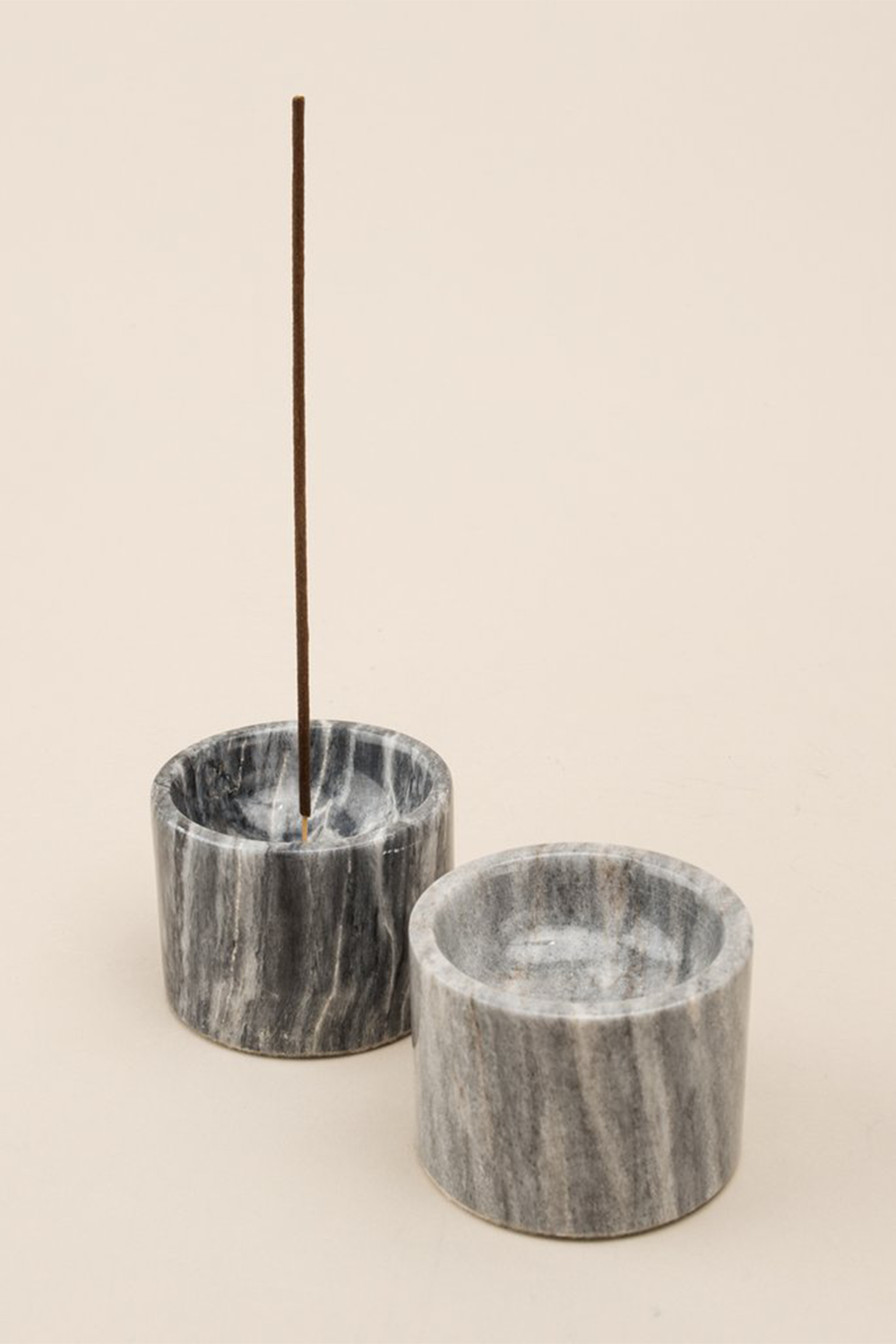 Rooted Incense Holder in black