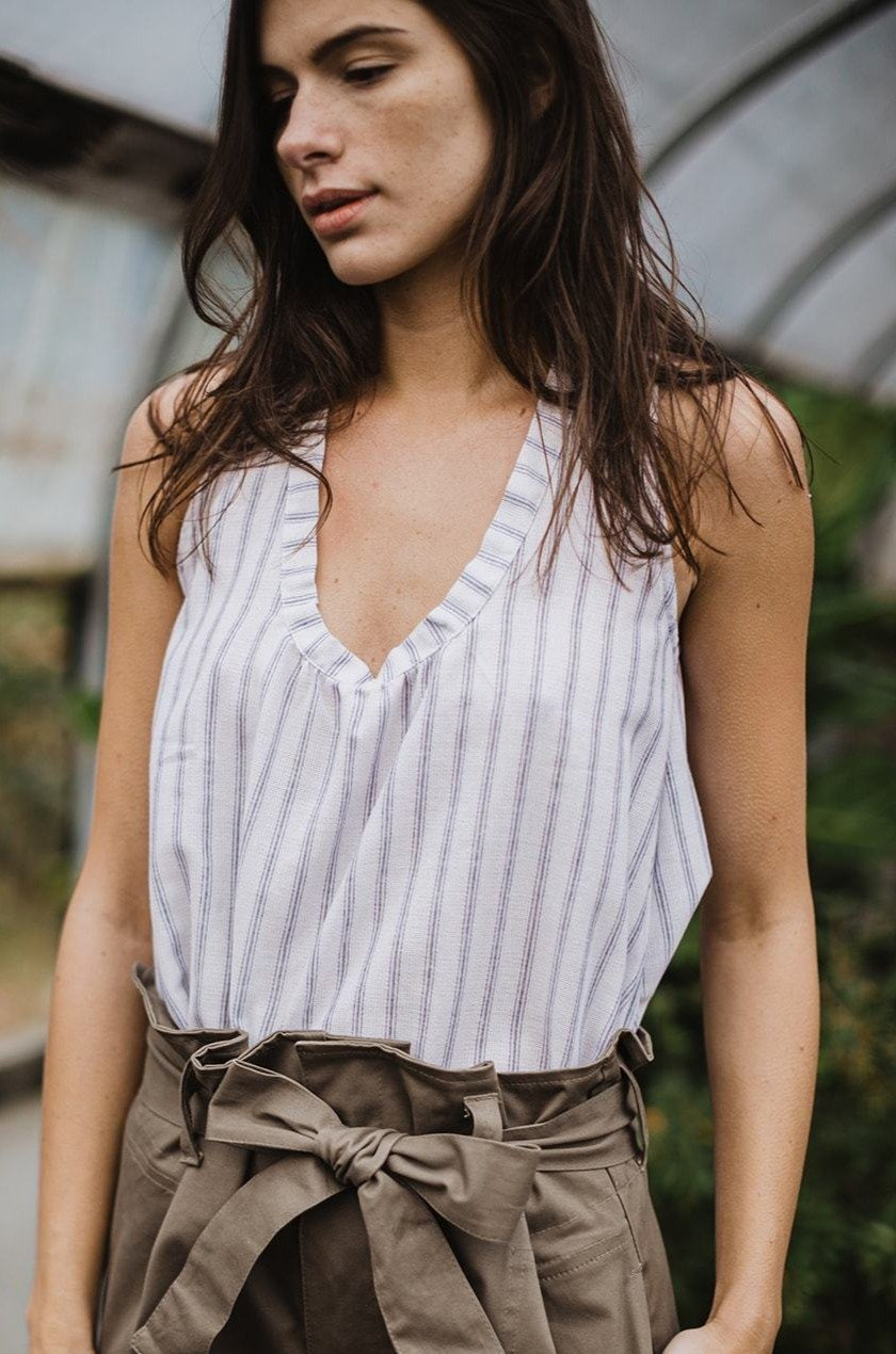 Dolores Top Stripes