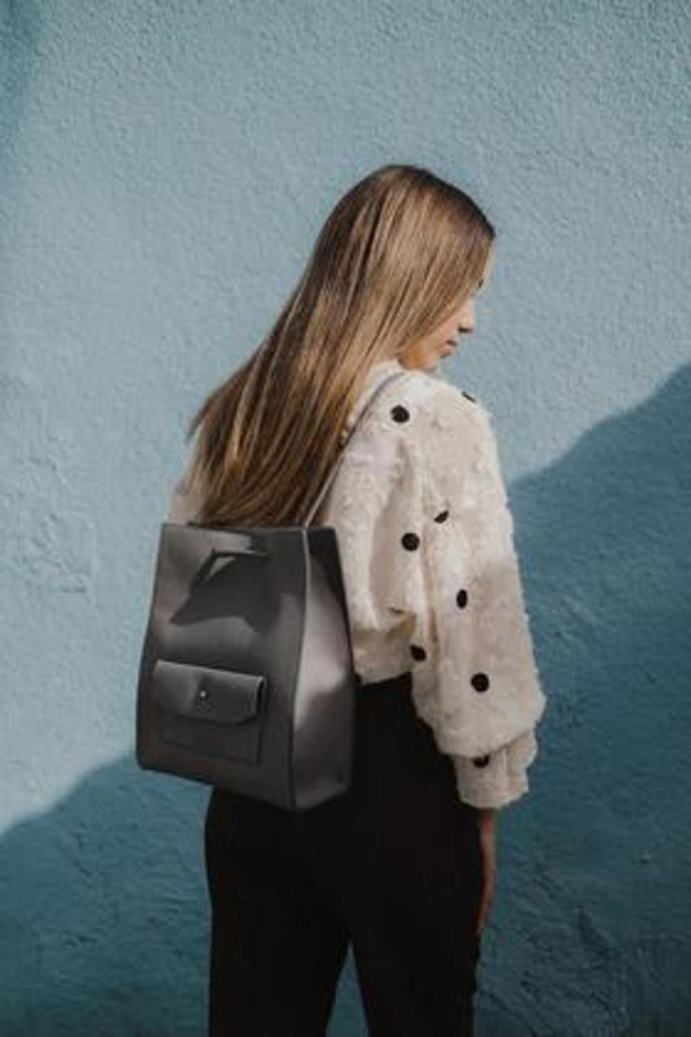 Martina Backpack Slate Blue
