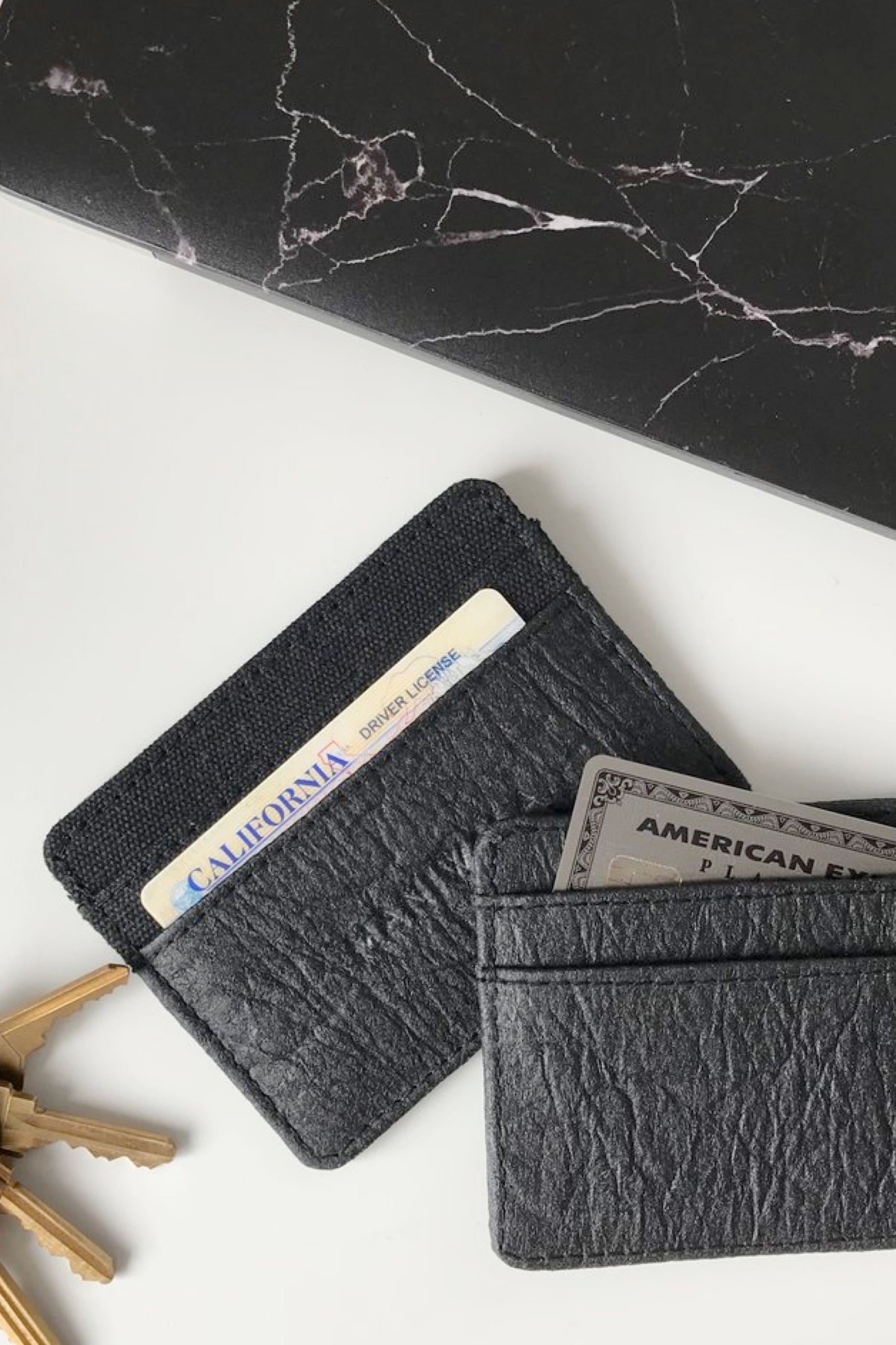 Hemp and Pinatex Cardholder
