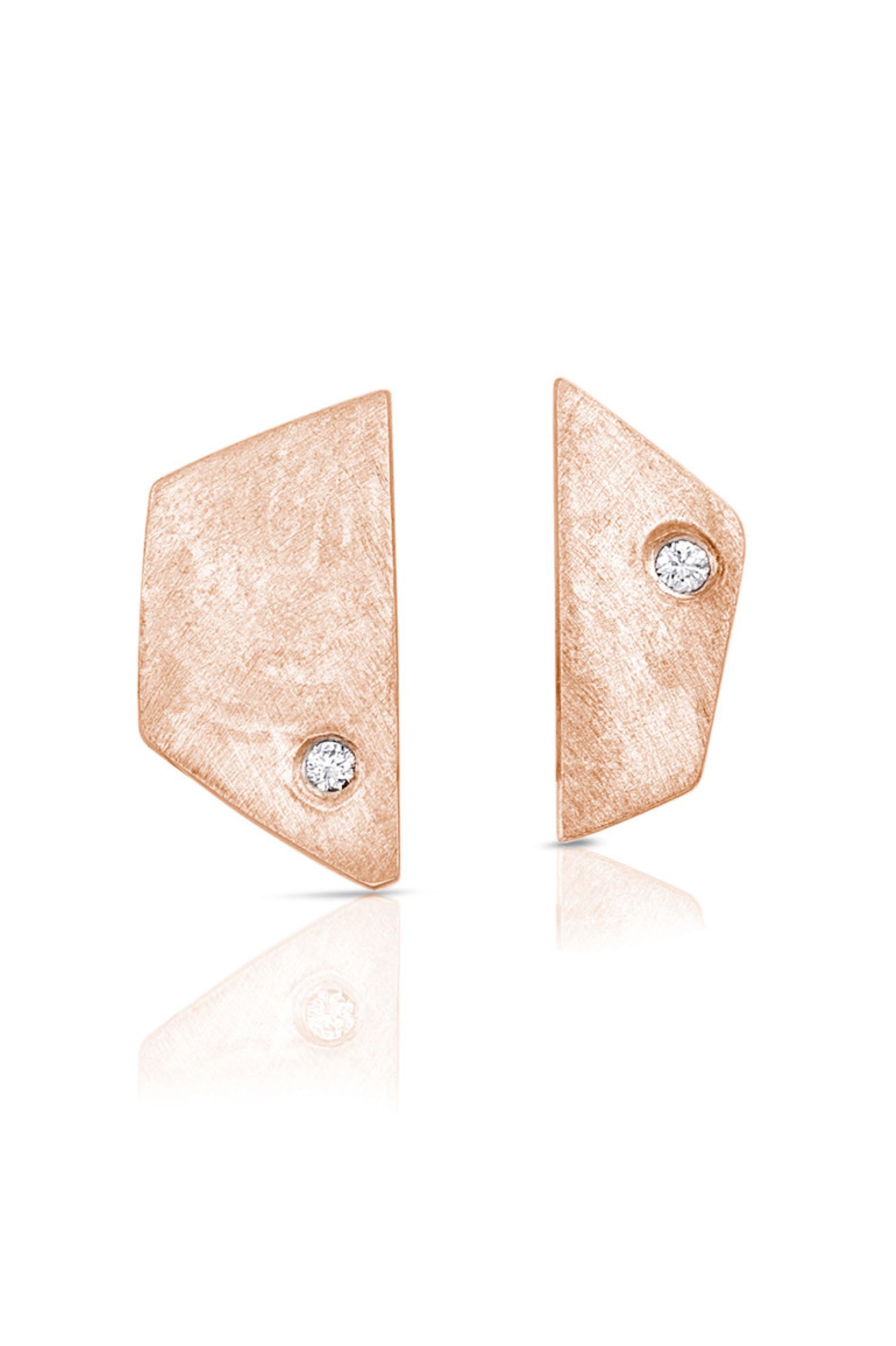 Rose Gold Paloma Earrings
