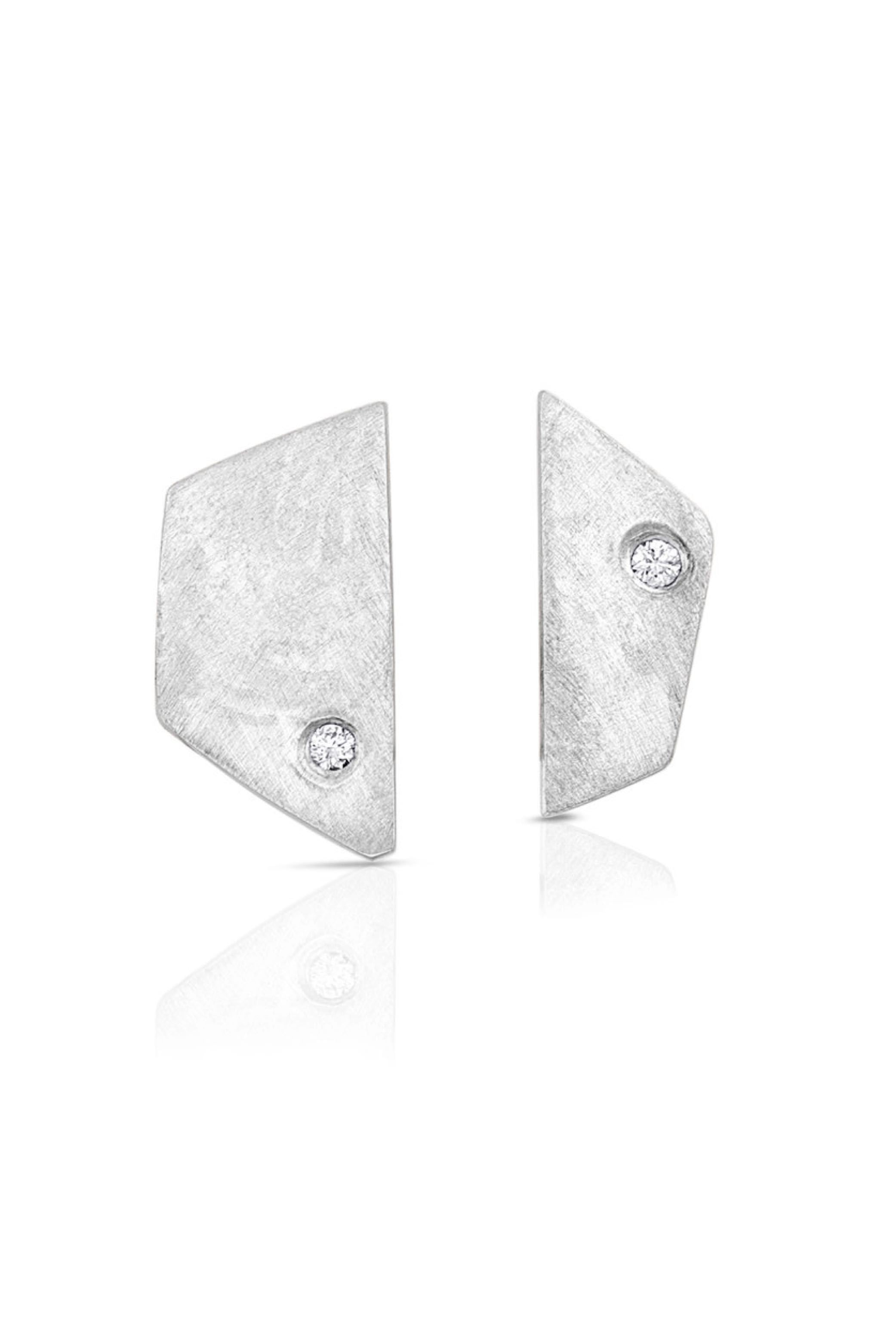 Silver Paloma Earrings