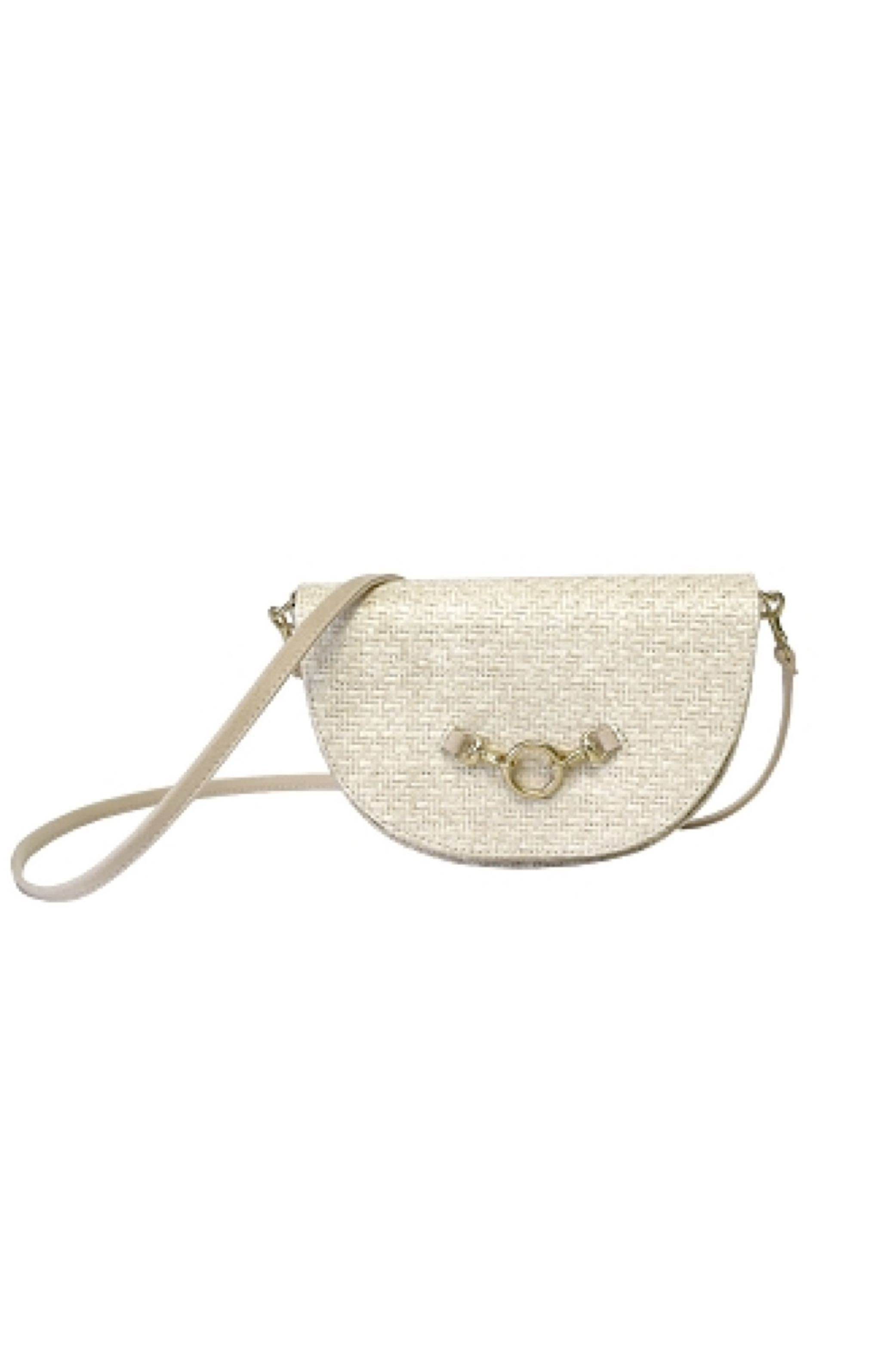 Half-moon Bag White Sand