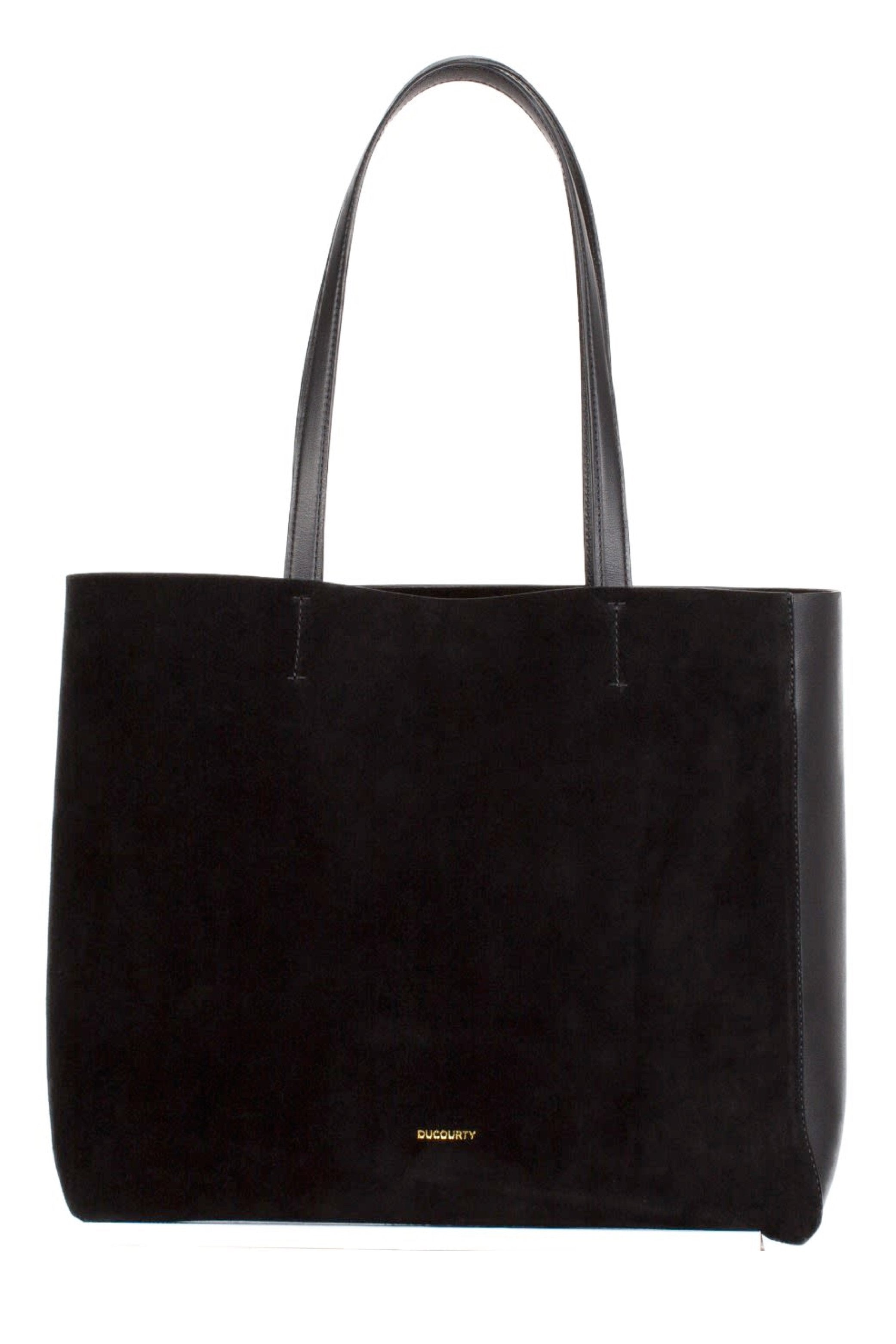 Simone Black Tote Bag