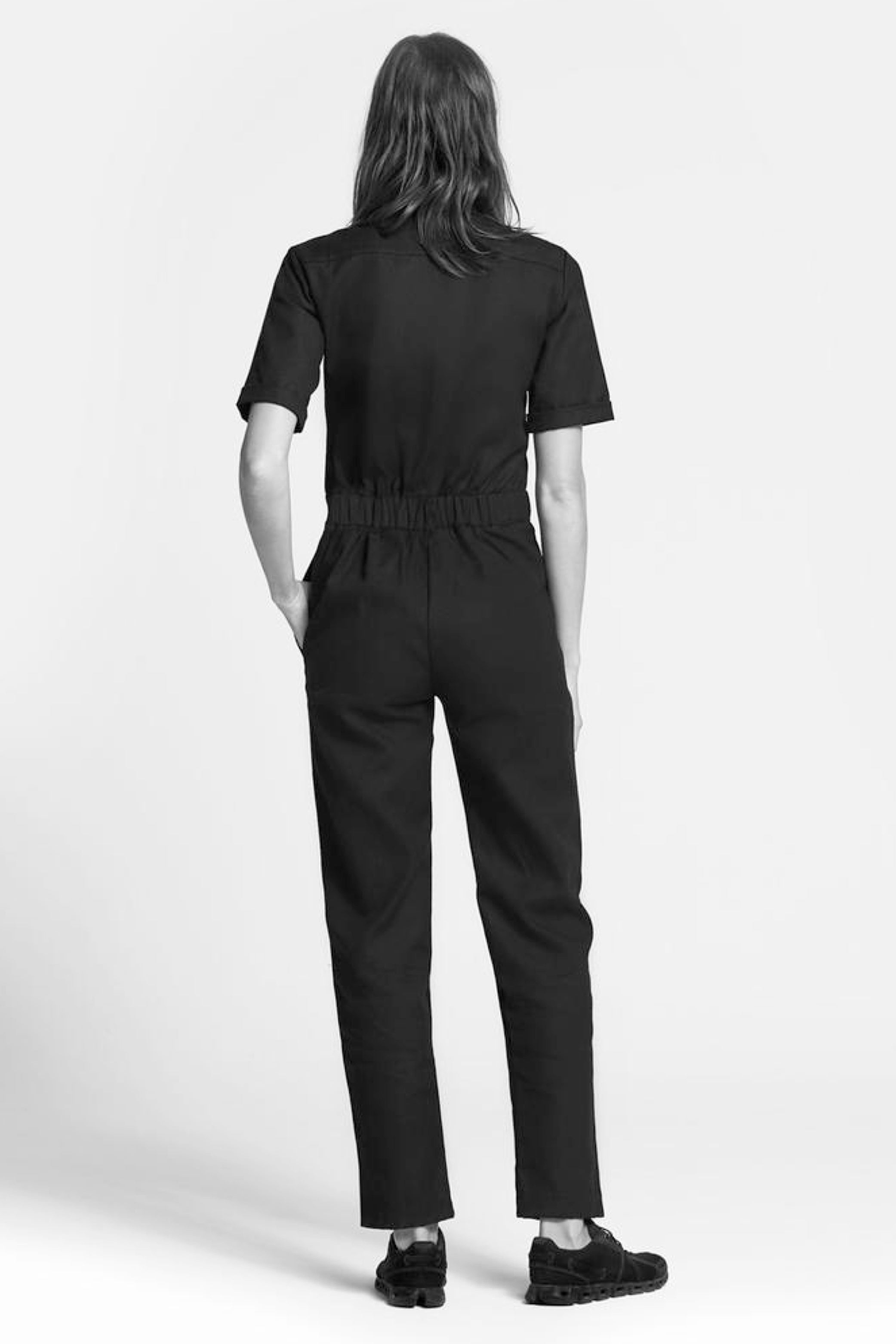 Mrs Black Jumpsuit