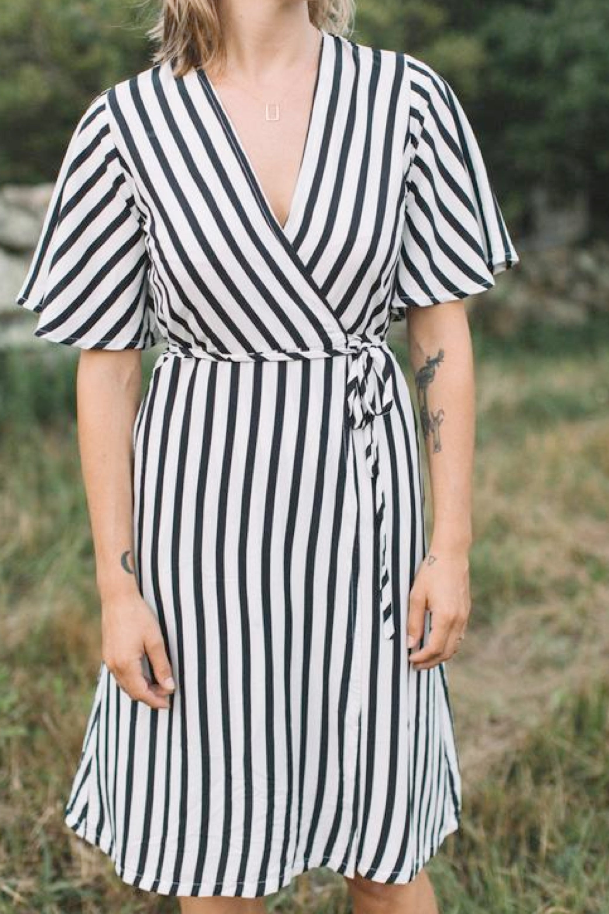 April Wrap Dress