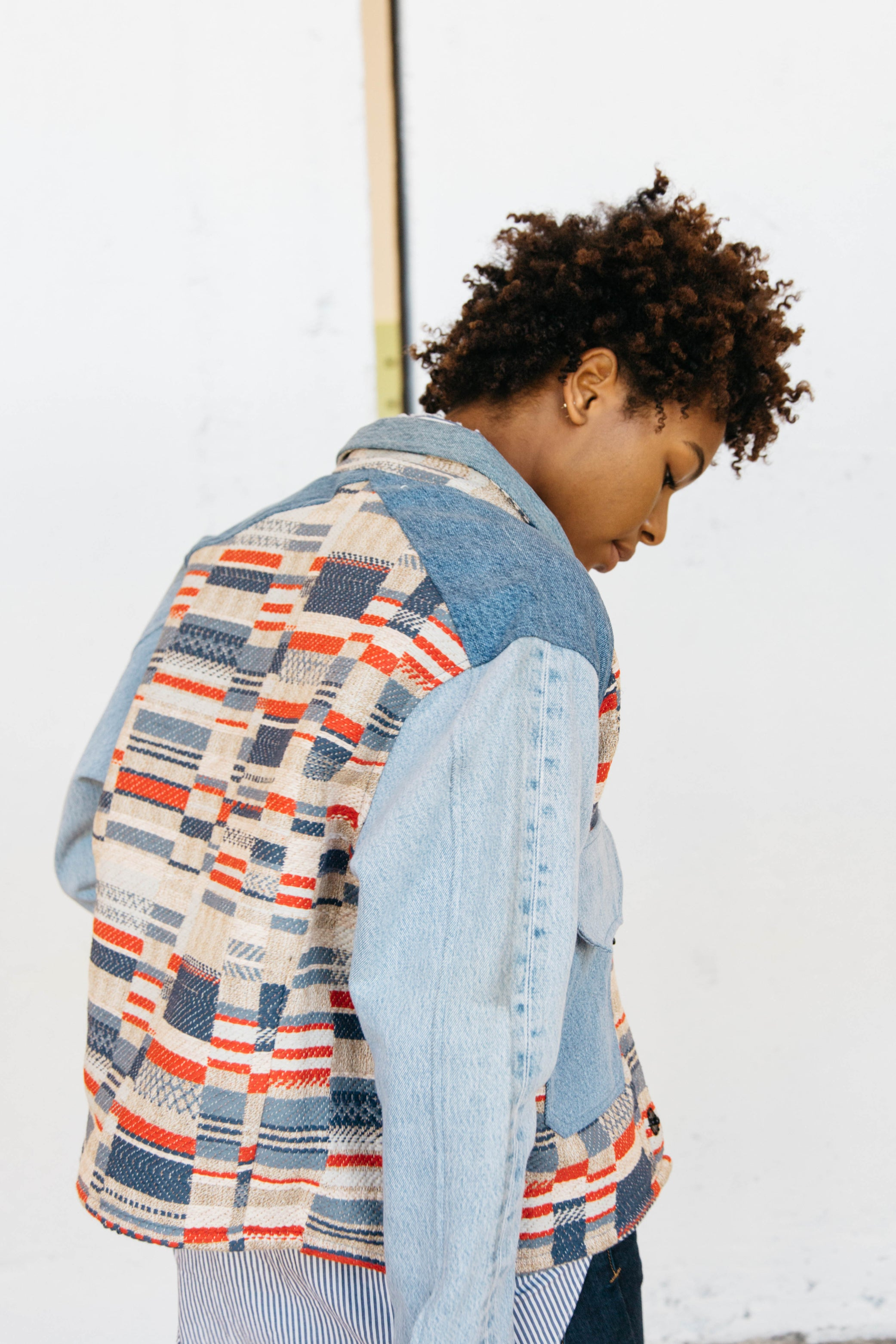 Denim Flag Jacket