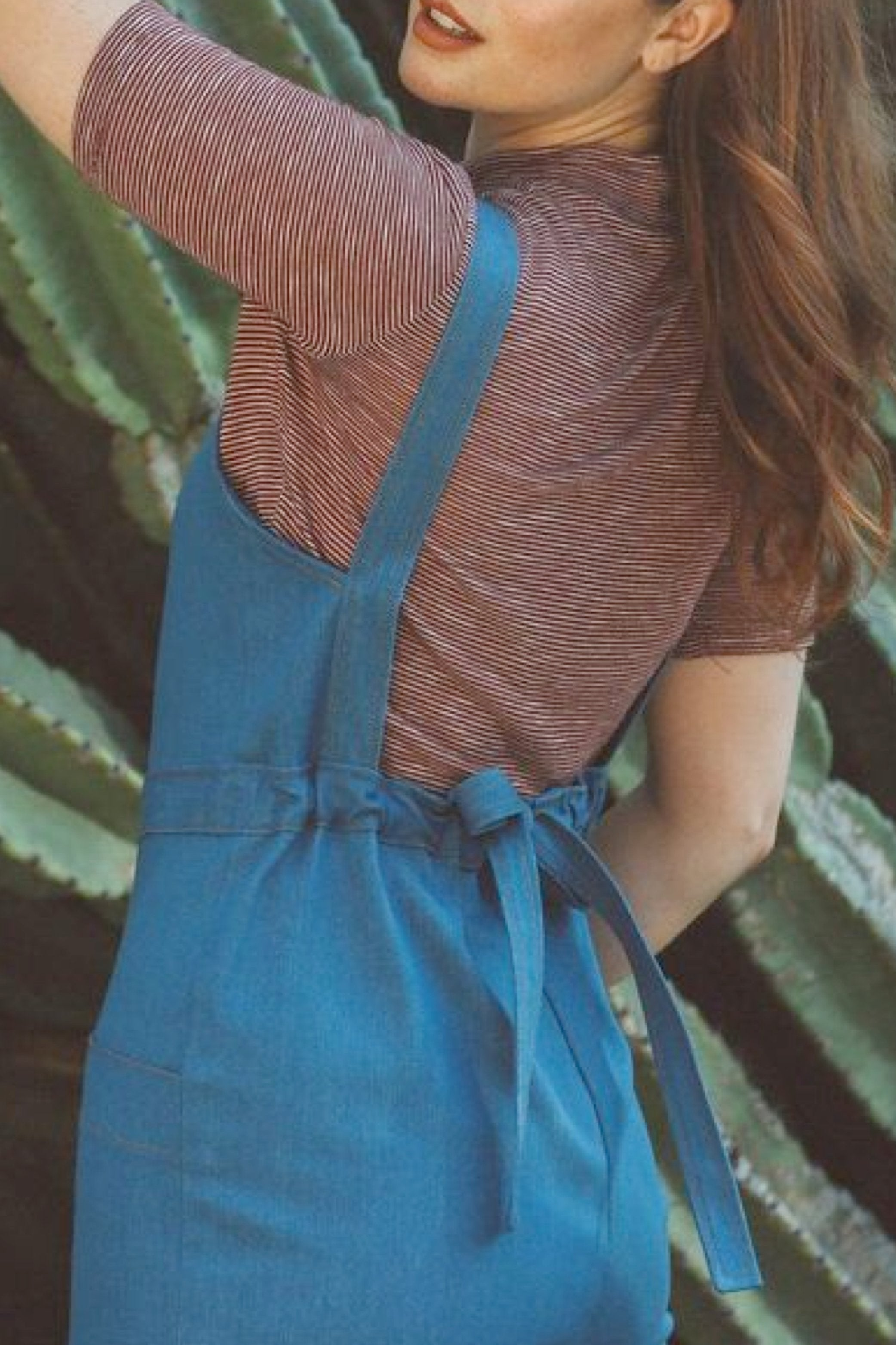 Delia Jumpsuit Sky Denim