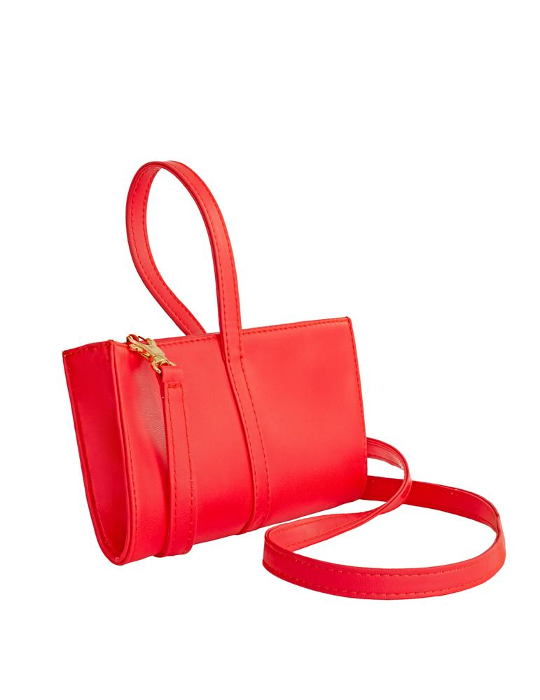 Wristlet Clutch Red