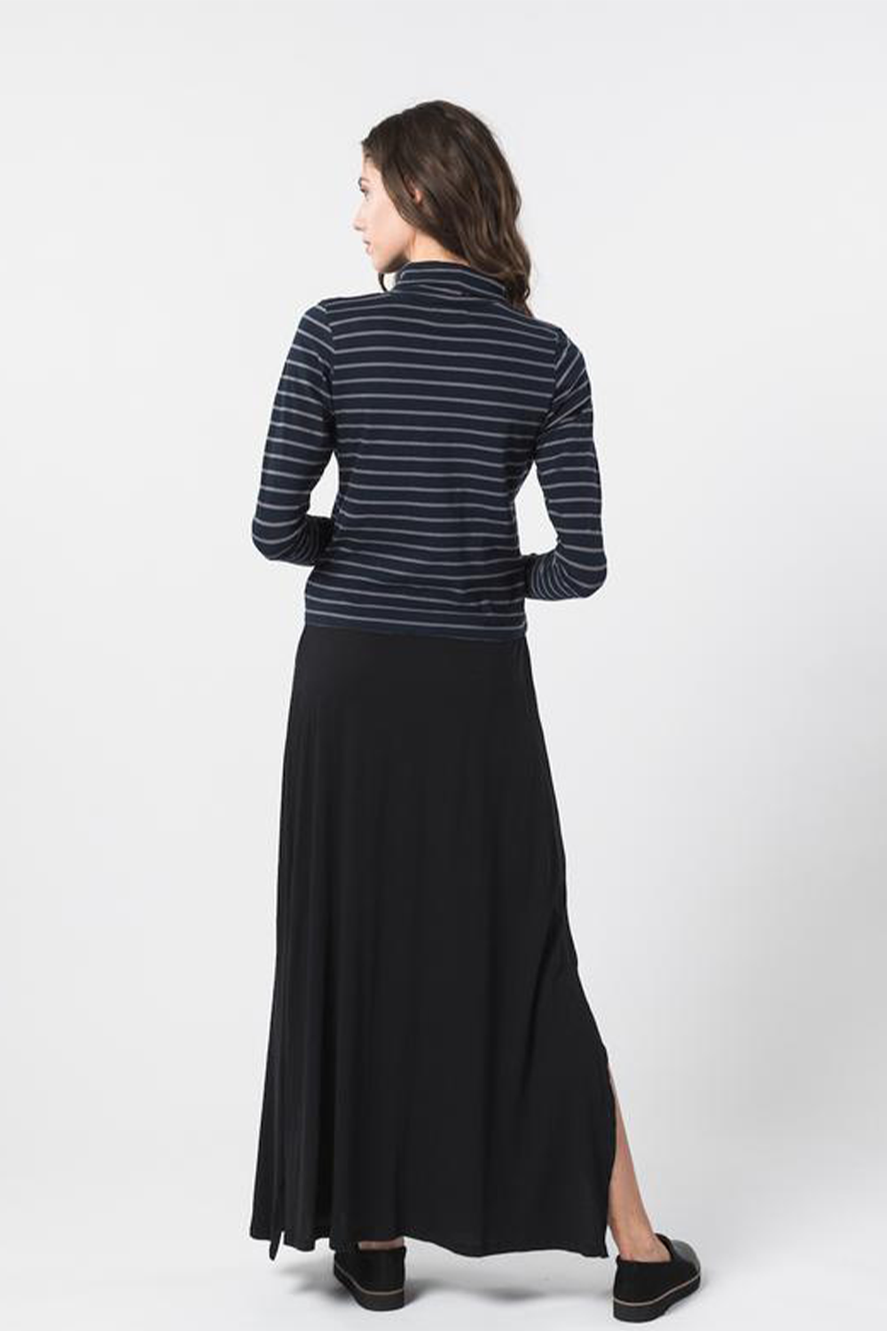 Luise Turtleneck Navy Stripe