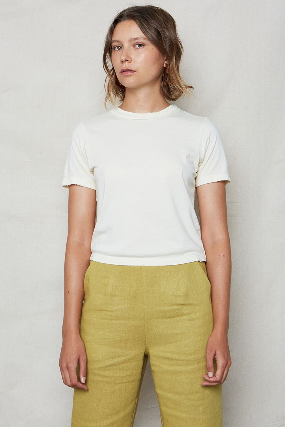 Hemp Crop Tee Natural