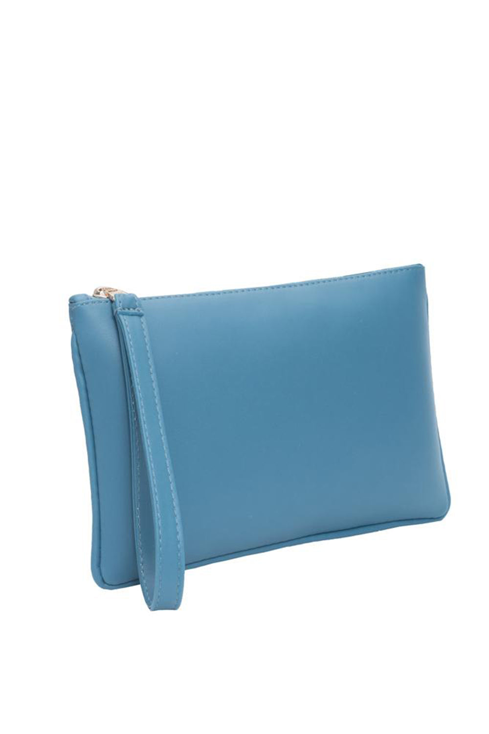 Zipper Clutch Cerulean
