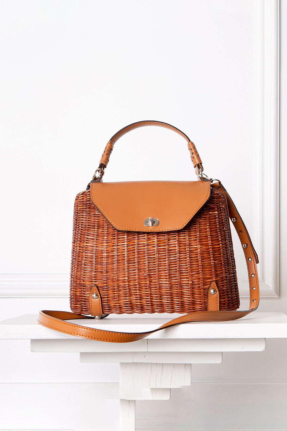 Clara Handbag Brown