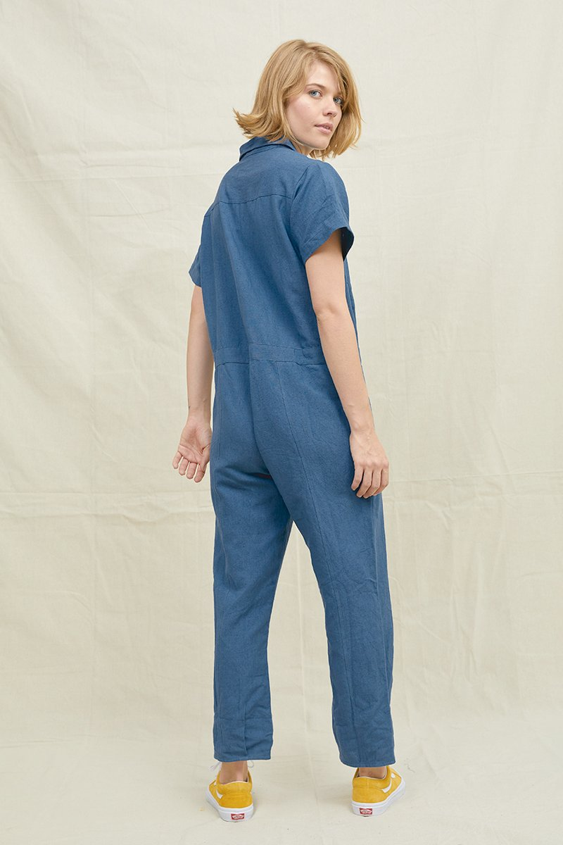 Boiler Jumpsuit Denim