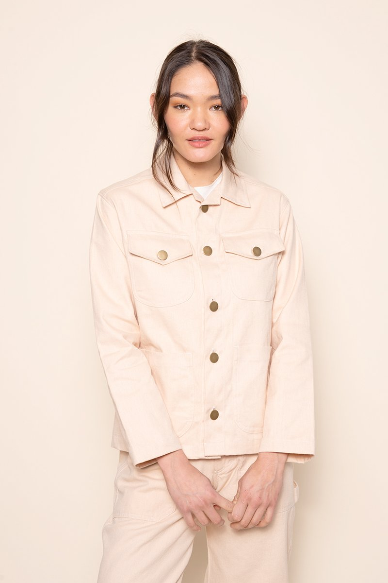 Hemp West Jacket Sand