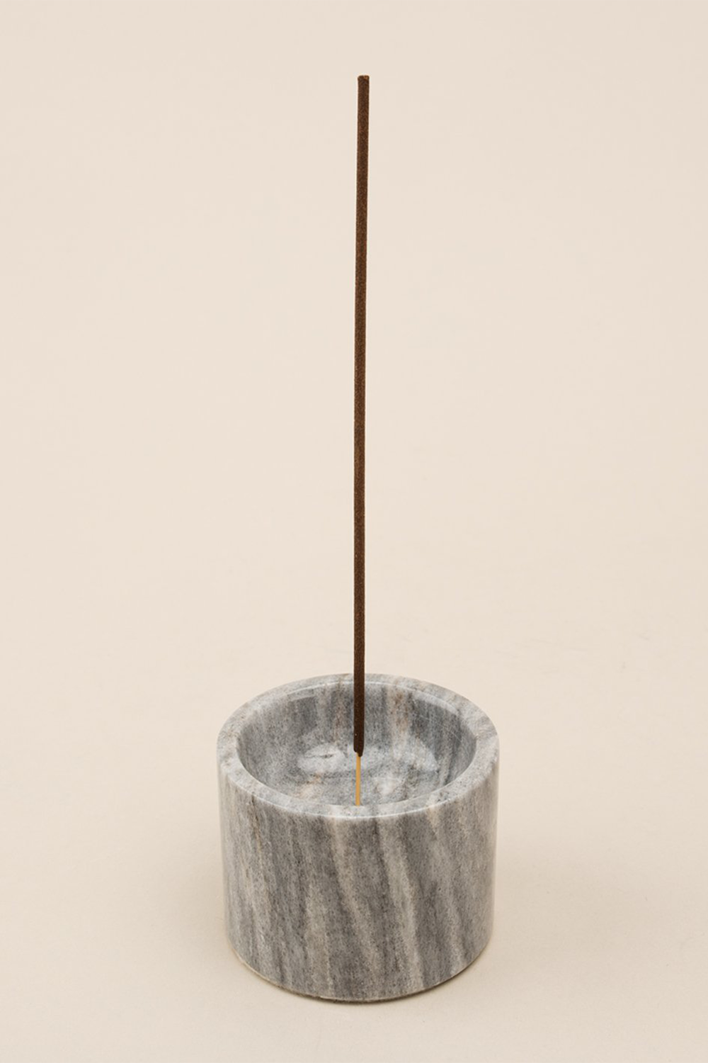 Rooted Incense Holder in gray