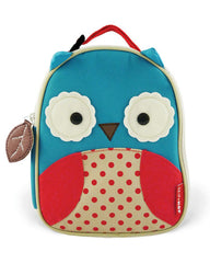 Skip Hop Zoo Lunchie Insulated Kids Lunch Bag- Owl