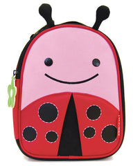 Skip Hop Zoo Lunchie Insulated Kids Lunch Bag- Ladybug