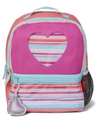 Forget Me Not Pack & Lunchie- Heart Stripe