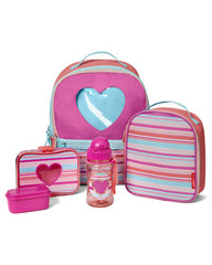 Forget Me Not Lunch Kit- Heart Stripe