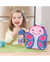 Skip Hop Zoo Lunchie Insulated Kids Lunch Bag- Butterfly