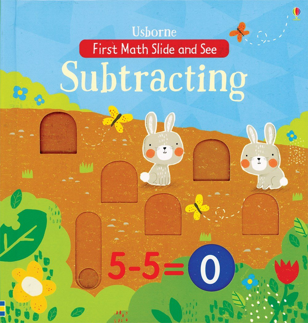 First Math Slide and See Subtracting