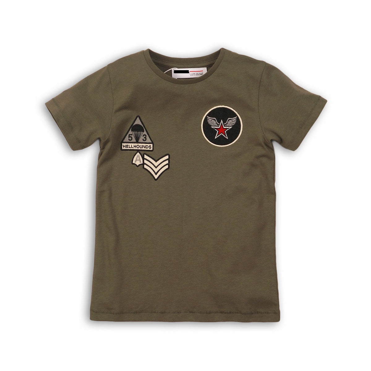 Boys Tee With Badge's