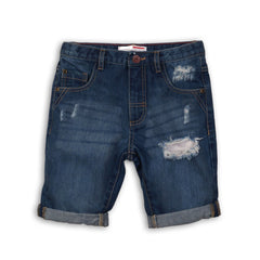 Boys Ripped Denim Short