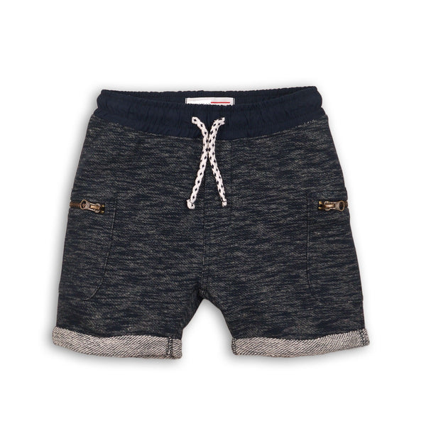 Boys Space Dye Fleece Short