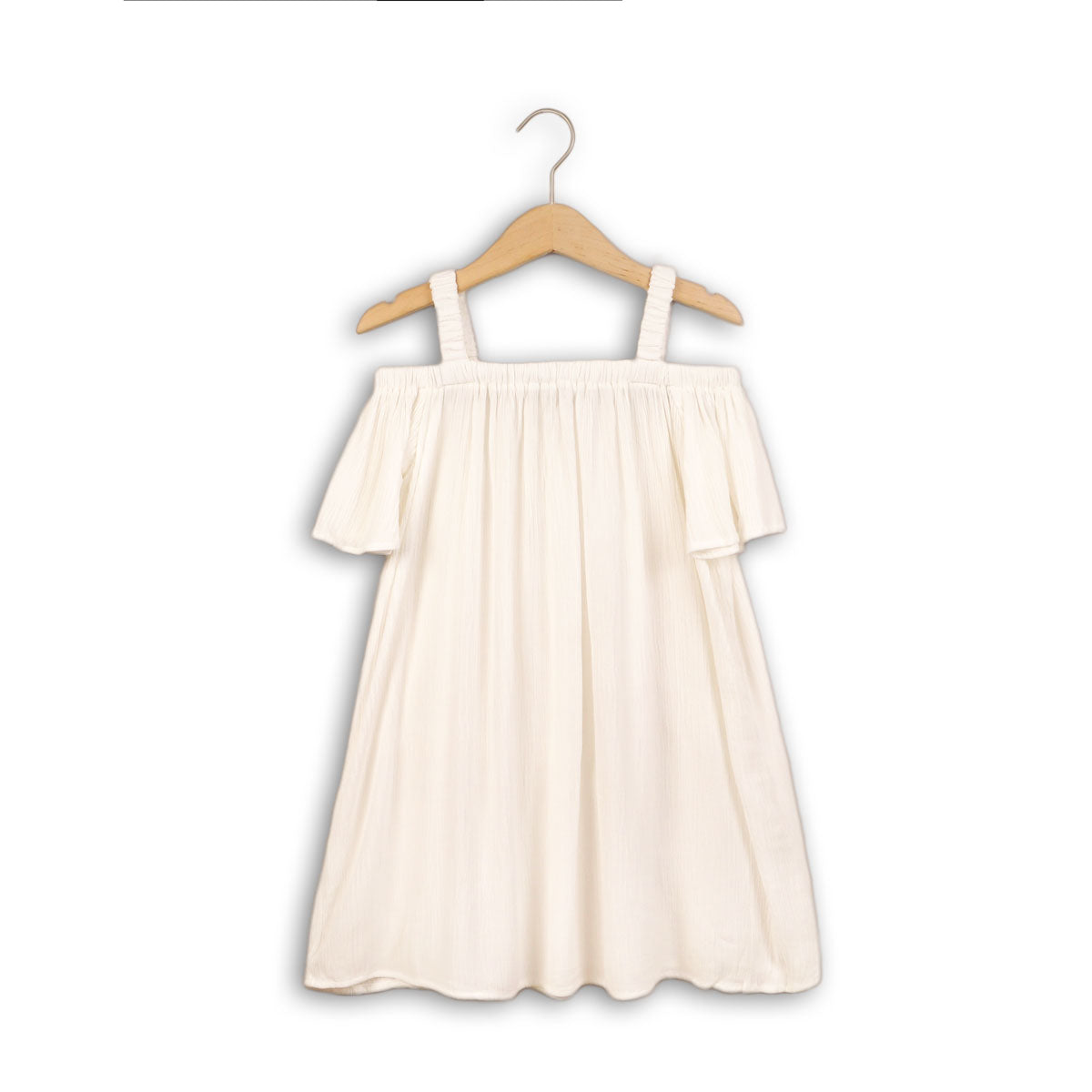 Girls Woven Crepe Dress