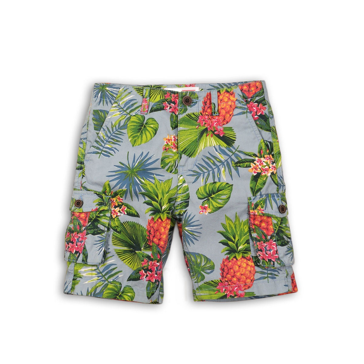 Boys Woven Tropical Short