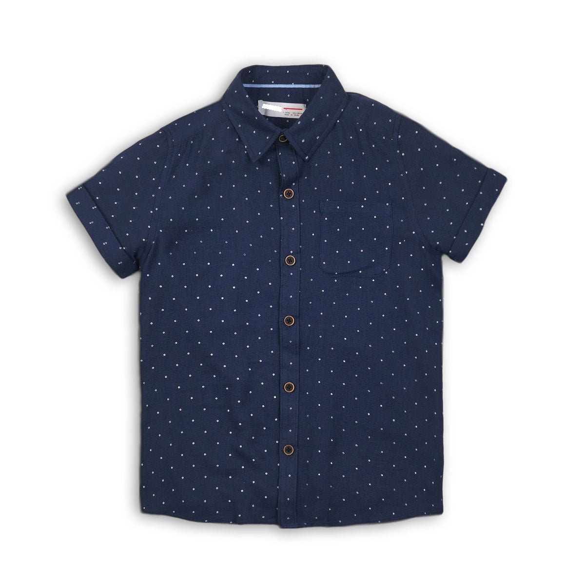 Boys All Over Print Shirt With Pocket