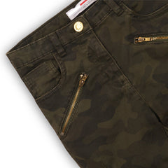 Girls Camo Twill Pants