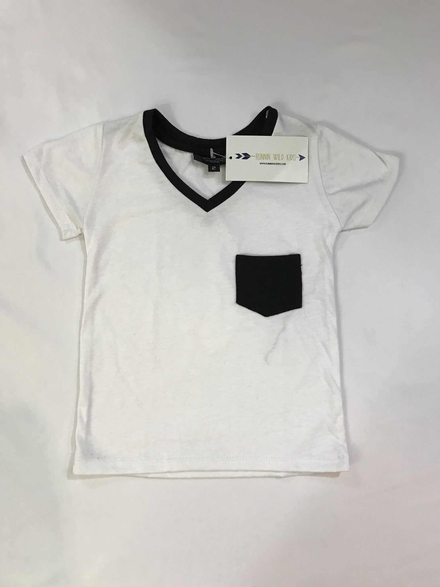 White Contrast Pocket